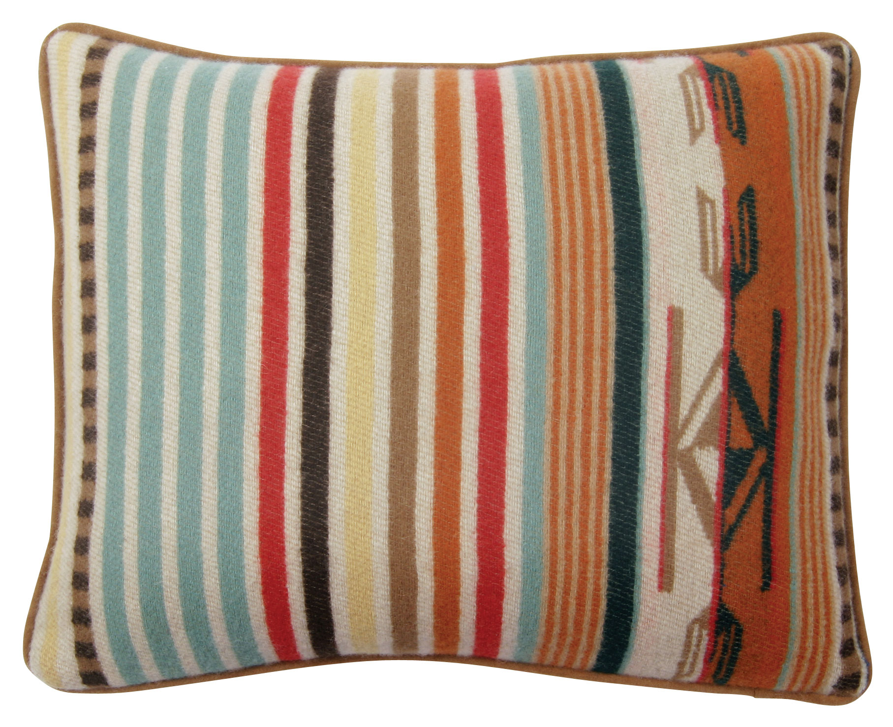 Chimayo Pillow - Coral